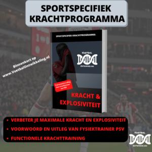 Binnenkort online: sportspecifiek krachtprogramma gericht op maximale kracht en explosiviteit