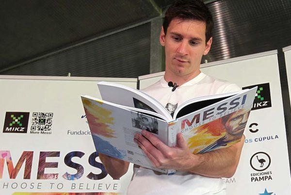 Voordeel van lezen voor voetballers