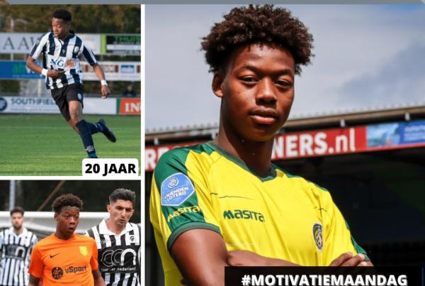 Tijani Noslin, laatbloeiers vanuit amateurvoetbal naar Eredivisie
